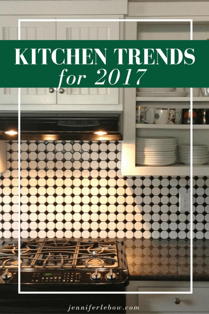 2017 kitchen trends
