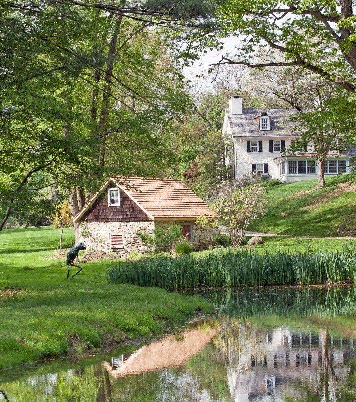 Older Malvern, PA property with land