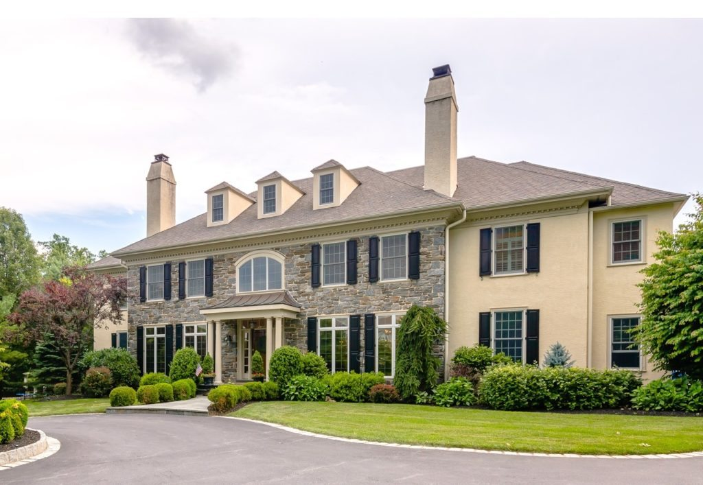 Newer home in Wayne, PA