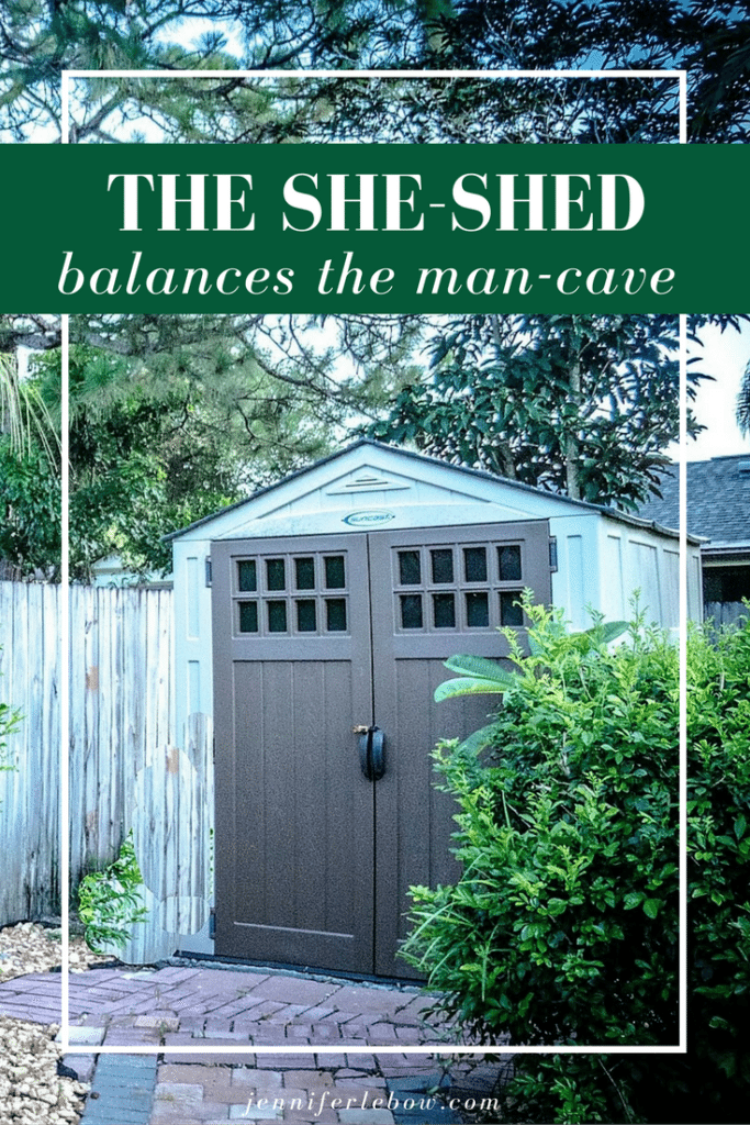 The She-Shed has arrived