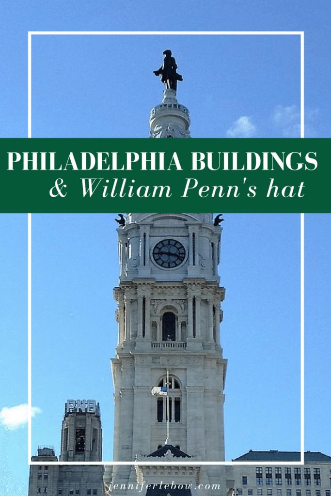 No taller than Billy Penn's hat