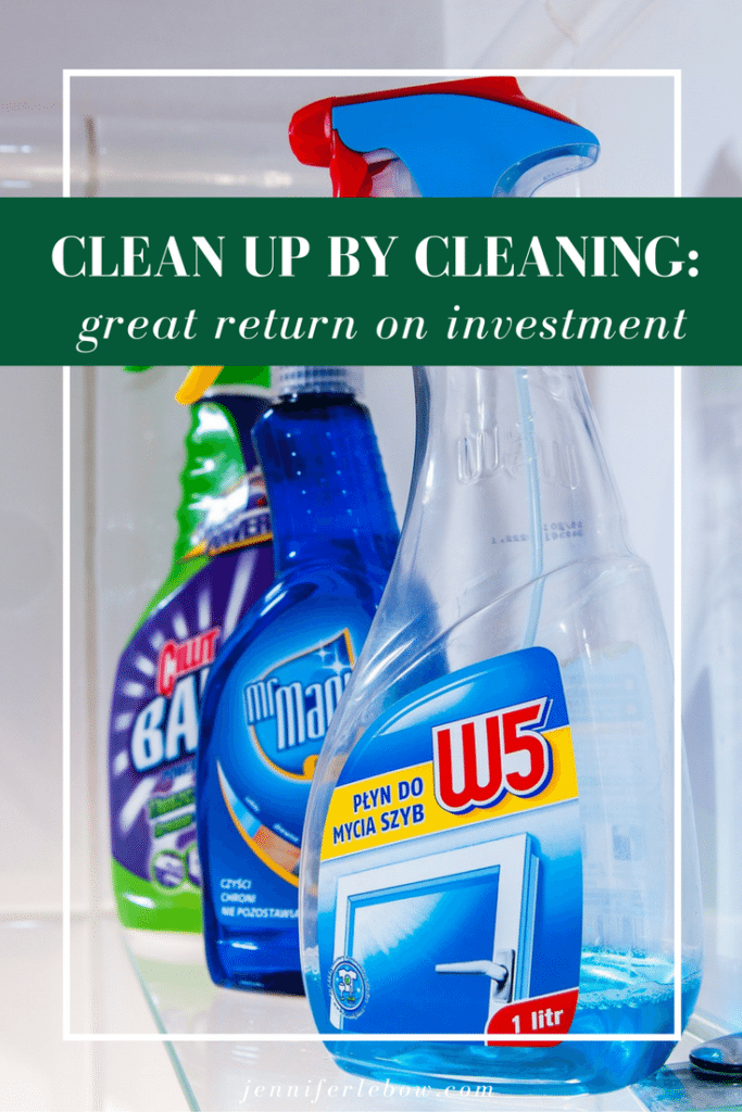 Clean up by Cleaning Up!