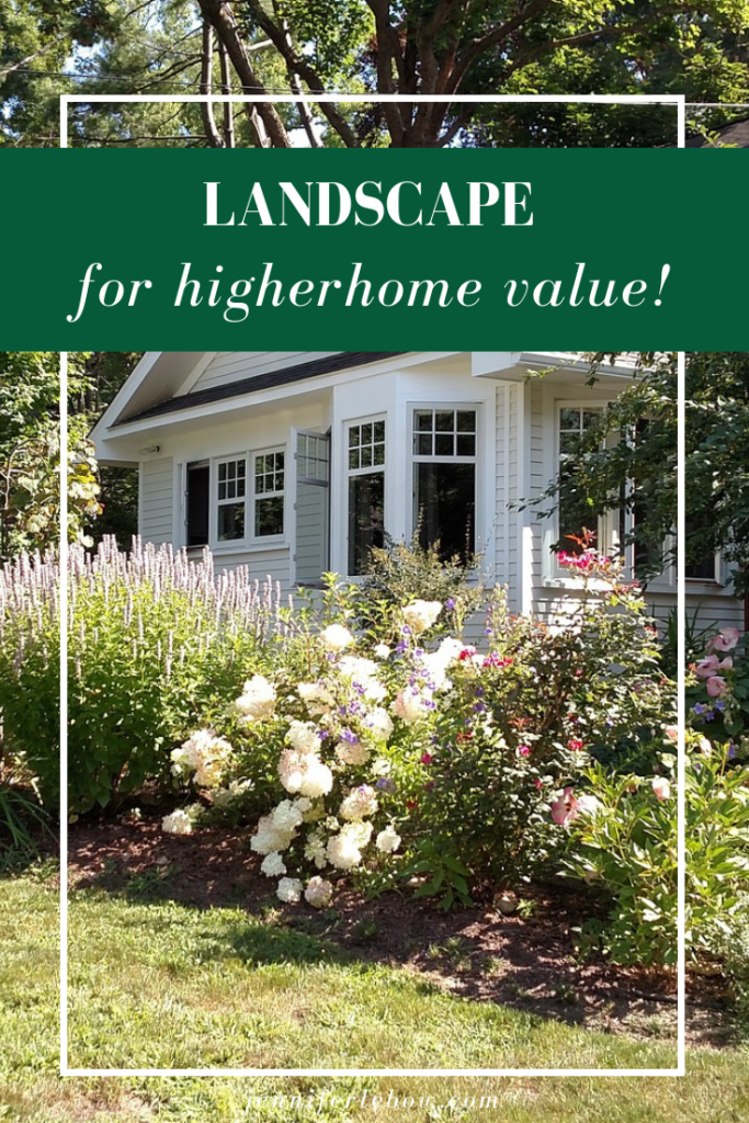 Learn how and why landscaping improves your property value....