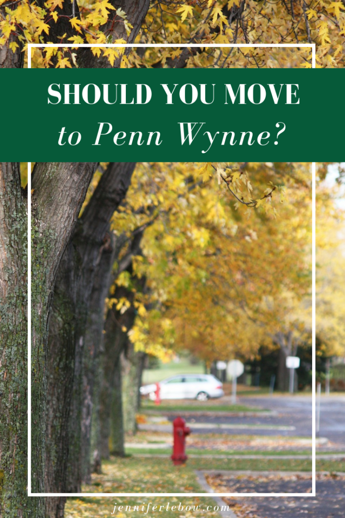 Philadelphia Main Line Relocation Penn Wynne Wynnewood