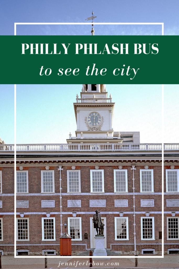 Philadelphia bus tour