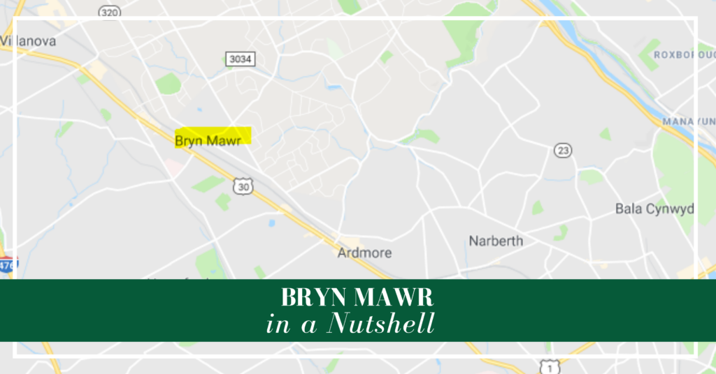 Philadelphia Main Line relocation Bryn Mawr