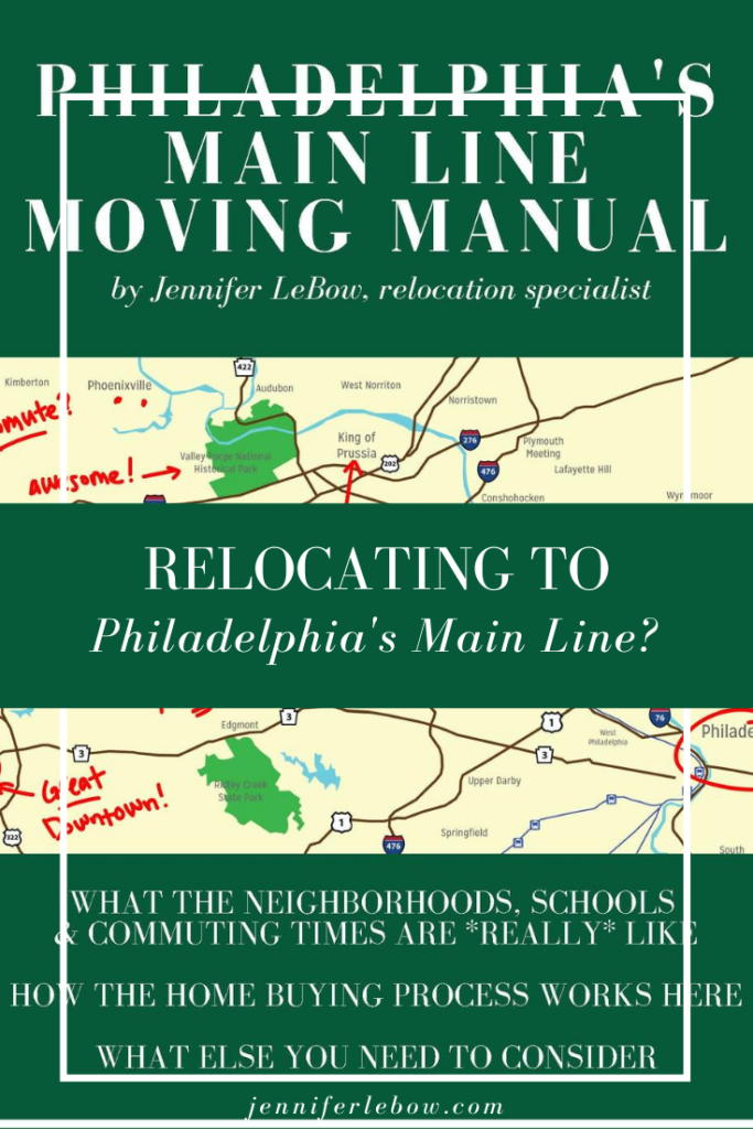 Philadelphia Main Line relocation